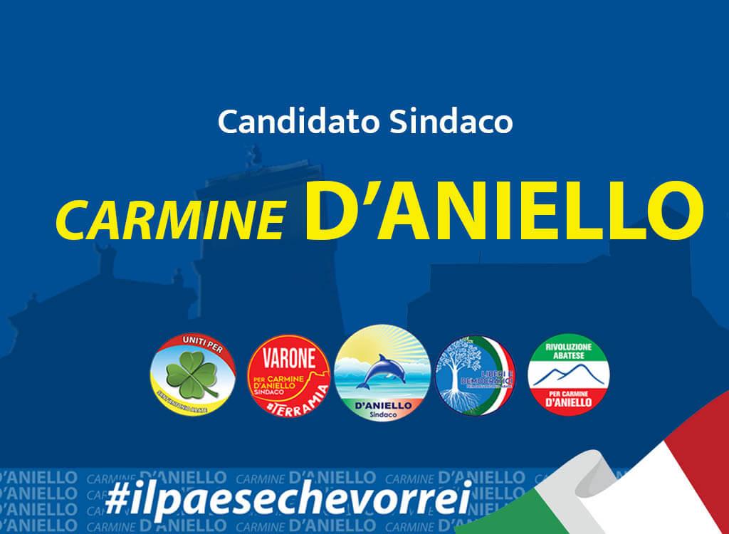 Carmine d'aniello candidato sindaco Sant' antonio abate